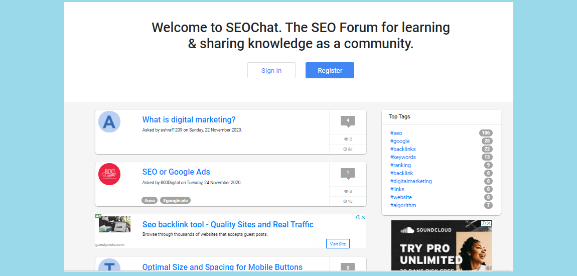 Best SEO and Digital Marketing Forums